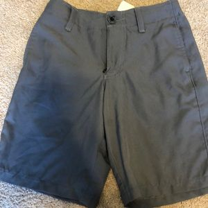 Boys Under Armour golf shorts